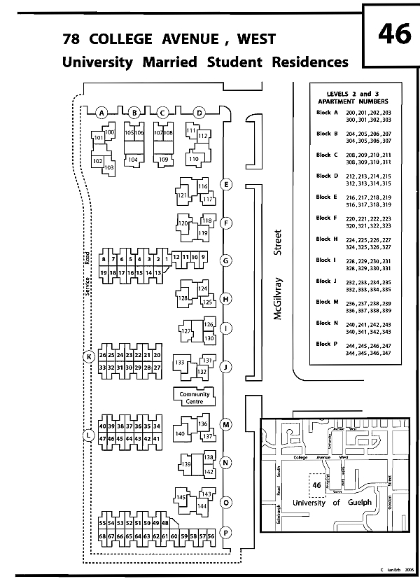 Townhouse Maps - Canadian Cab